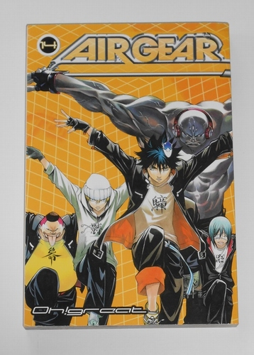 Air gear vol. 14