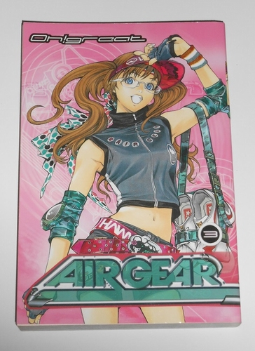 Air gear vol. 3